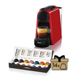 Ekspres do kawy DeLonghi Nespresso Essenza Mini EN85.R Czerwone