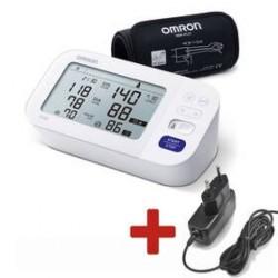 Ciśnieniomierz naramienny OMRON M6 Comfort s Afib +ZDROJ
