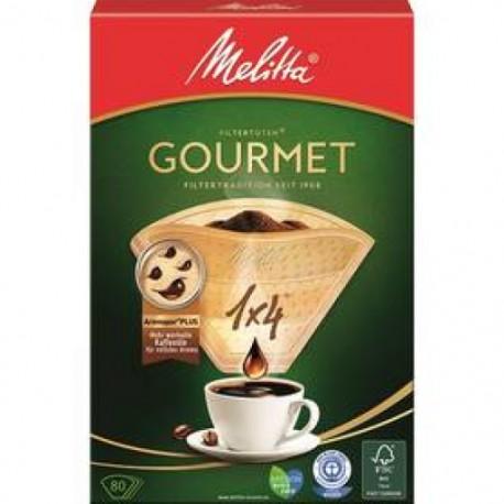 Filtr Melitta Gourmet 1x4 80 ks