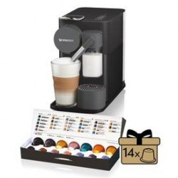 Ekspres do kawy DeLonghi Nespresso Lattissima One EN500.B Czarne